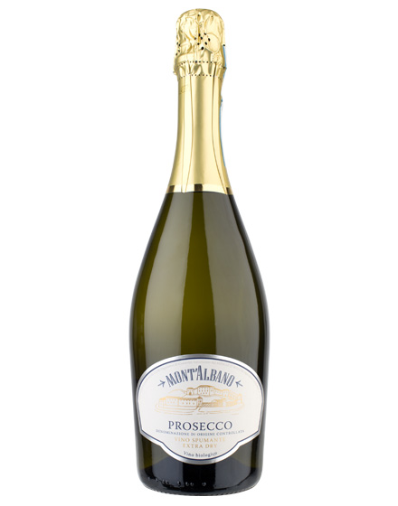 Mont'Albano Spumante Extra Dry Prosecco DOC 2015